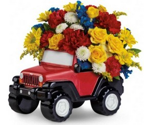 Cupid-07-Bouquet-homme-Jeep-Wrangler  49,95$  59,95$